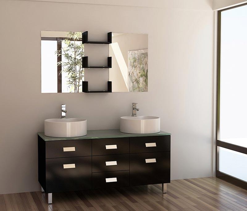 48 bathroom vanity with 2 sinks