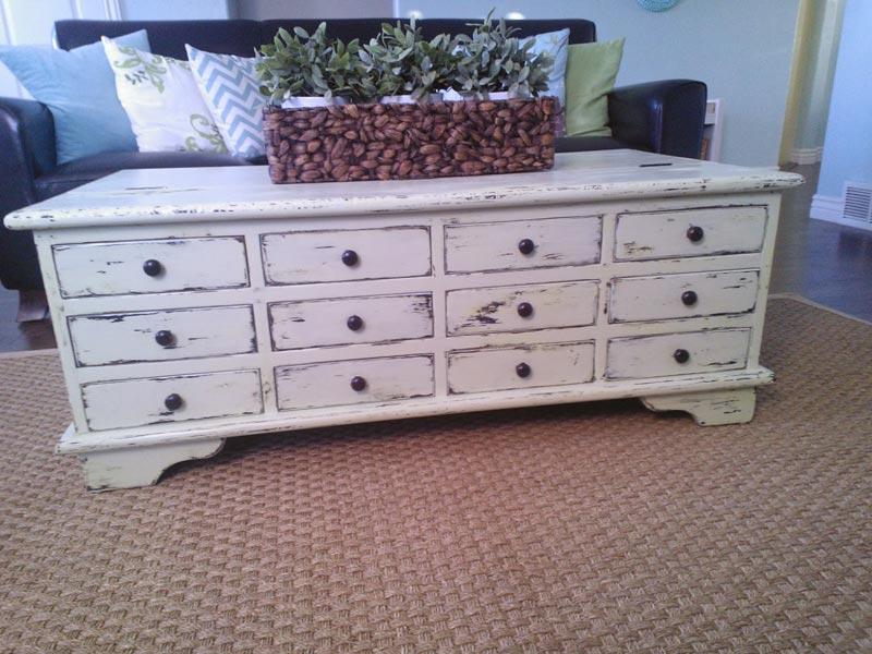 ana white apothecary coffee table