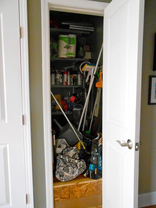 antique broom closet