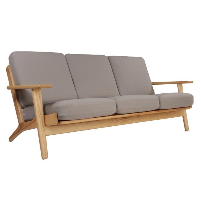 average 3 seater sofa size