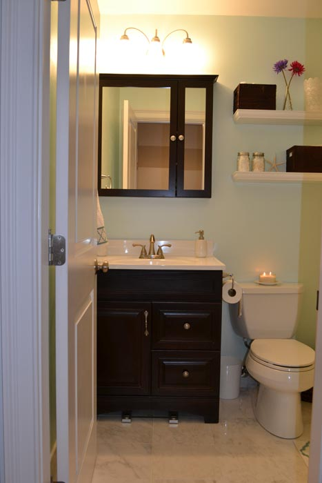 bathroom vanities for narrow spaces
