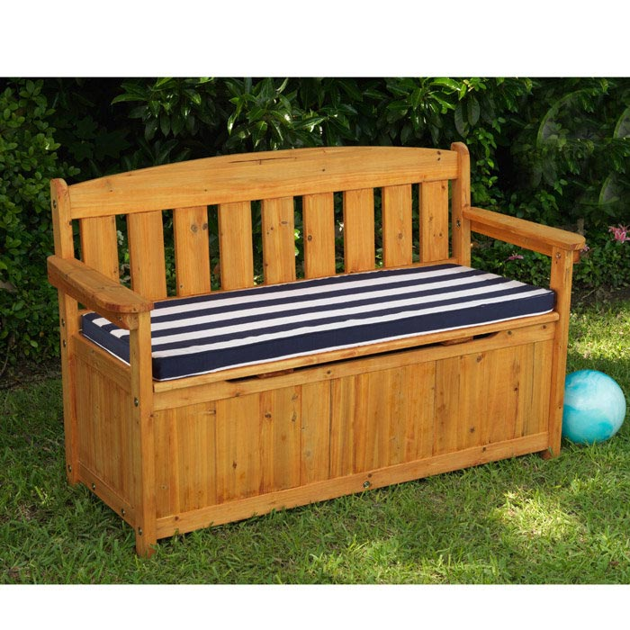 bench with storage under seat kits
