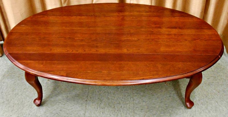cherry drop leaf coffee table