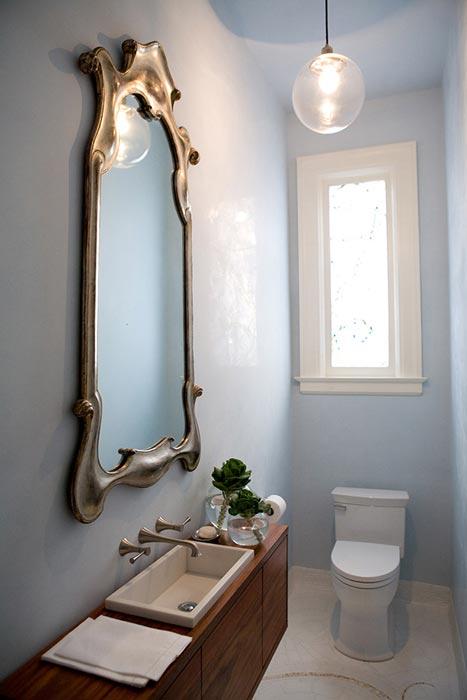 narrow bathroom vanities