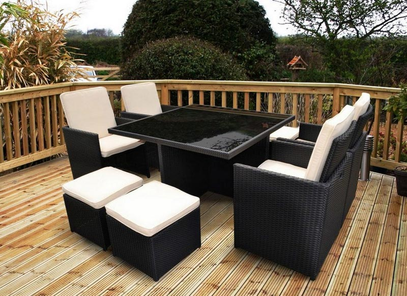 rattan effect garden furniture b and q