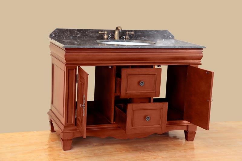 36 bath vanity with drawers