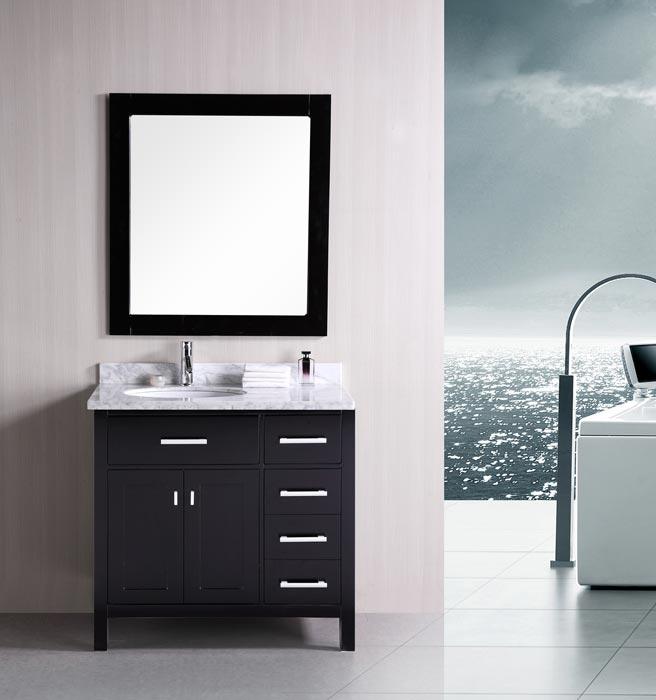 36 inch bathroom vanity espresso
