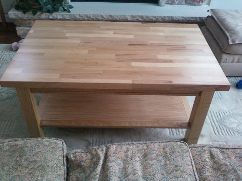 acacia coffee table plans