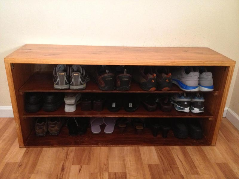 cheap shelving for shoes