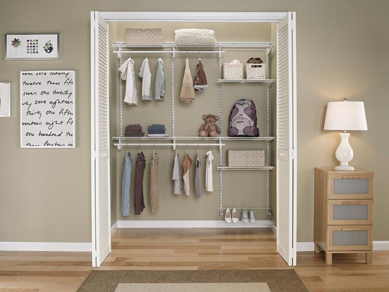 closet pro adjustable steel shelf and rod bracket