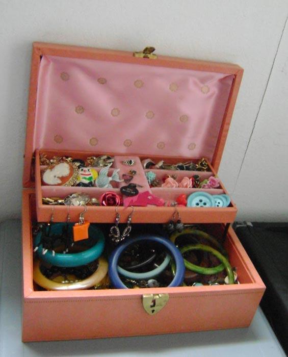 costume jewellery box ebay