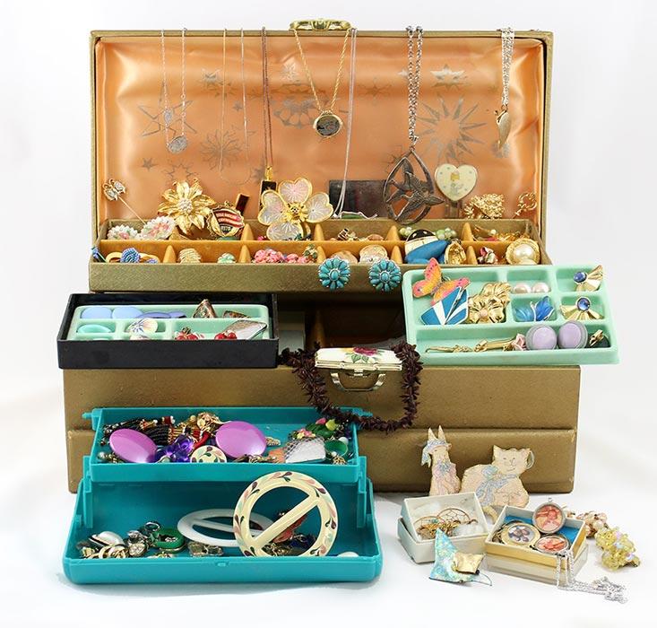 costume jewellery box