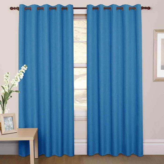 dunelm blue blackout curtains