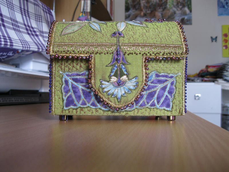 embroidered boxes janet edmonds