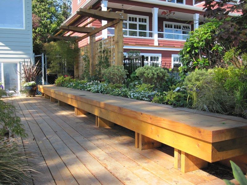 garden bench design ideas