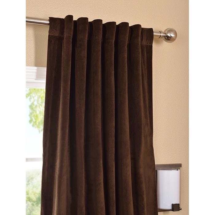 jcpenney velvet curtains