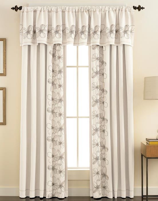 kohls curtains and valances designs