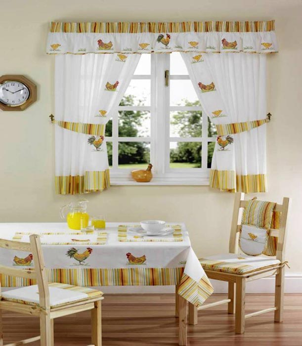 kohls lemon kitchen curtains