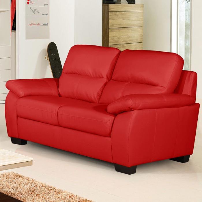 2 seater leather sofa ebay uk