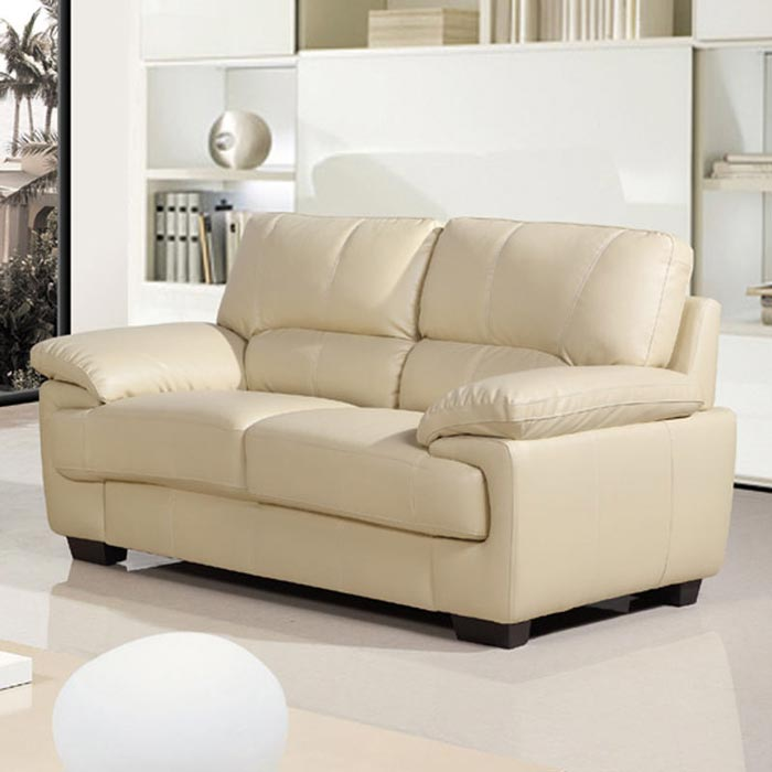 2 seater leather sofa ebay