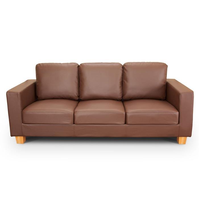 3 seater leather sofa ebay
