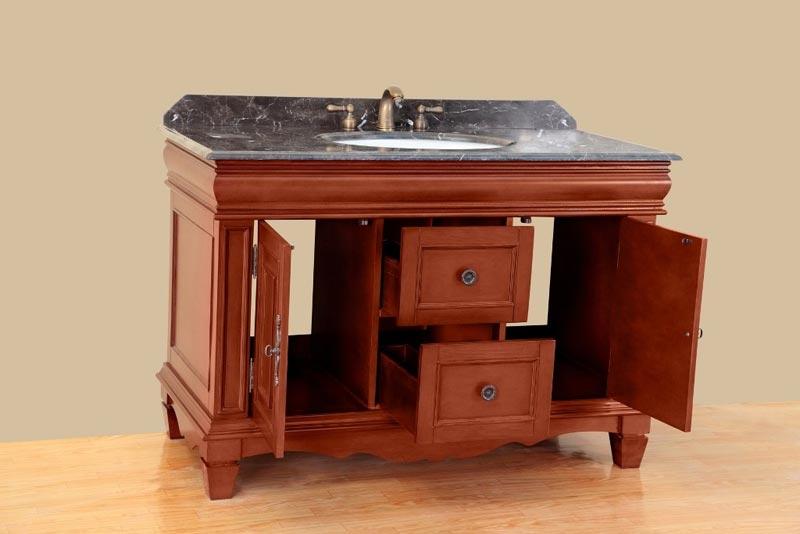 42 bathroom vanity with sink