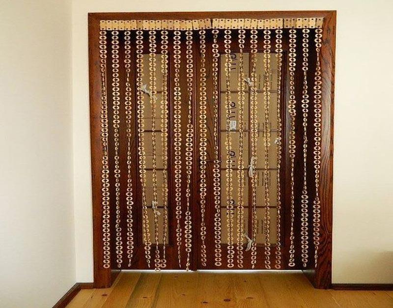 beaded door curtains pier one
