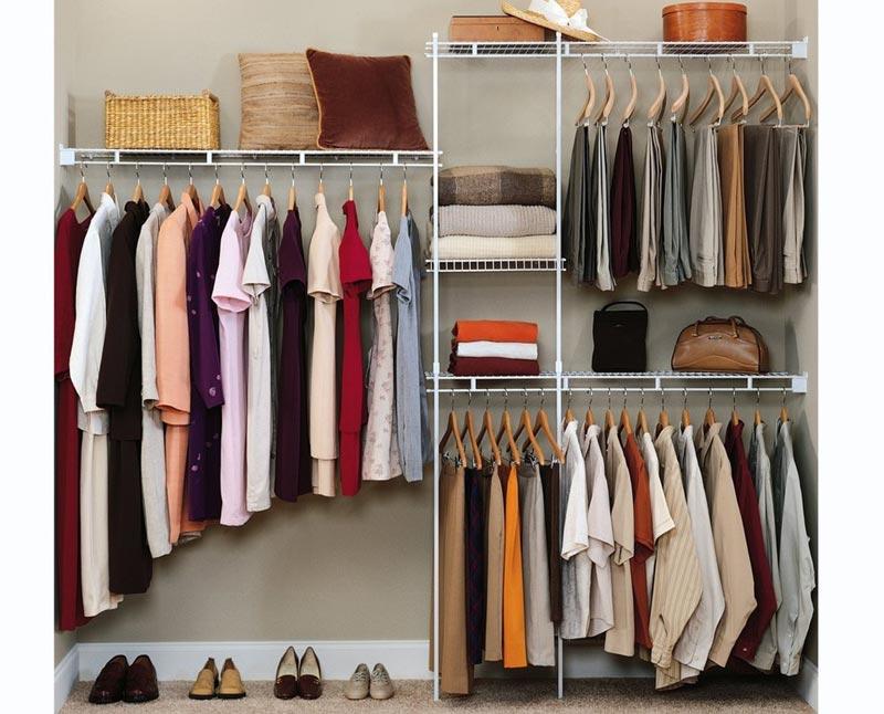 cheap storage ideas for closets