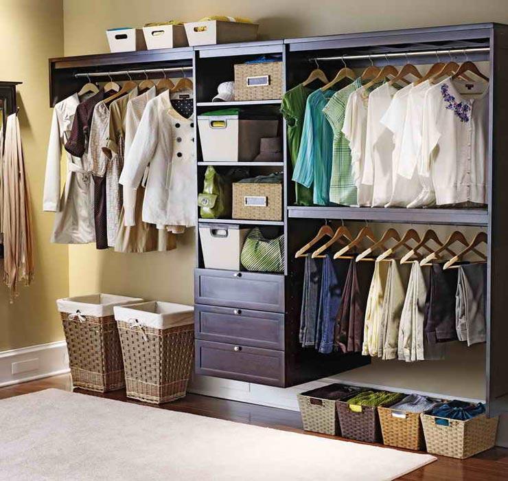 closet storage ideas for apartments