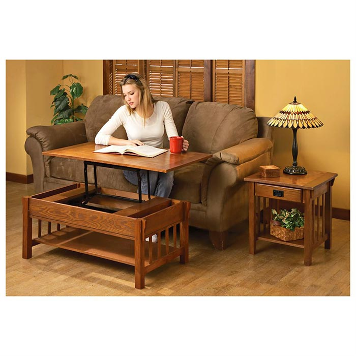 coffee table with lift top costco