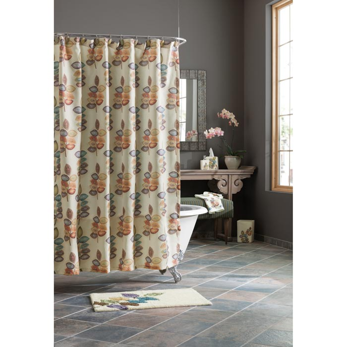 croscill shower curtain with valance