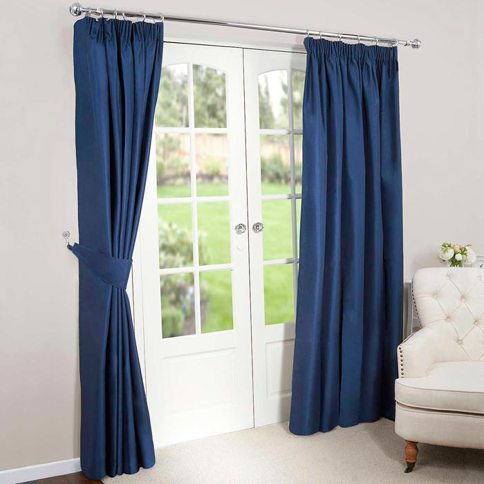 curtain and drapes walmart blue