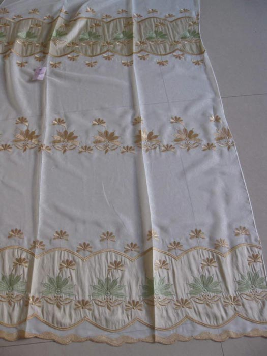 curtain voile fabric