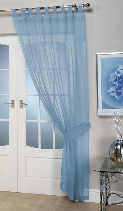 curtains voile panels