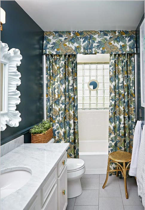 custom shower curtains with valance