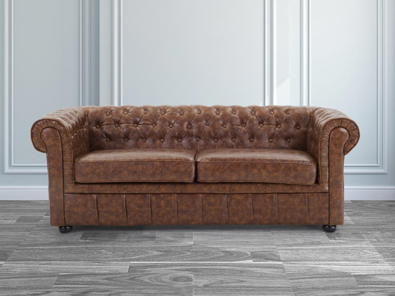 difference between couch sofa and chesterfield