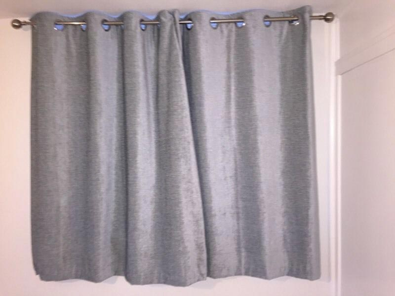 dunelm grey curtains 90×90