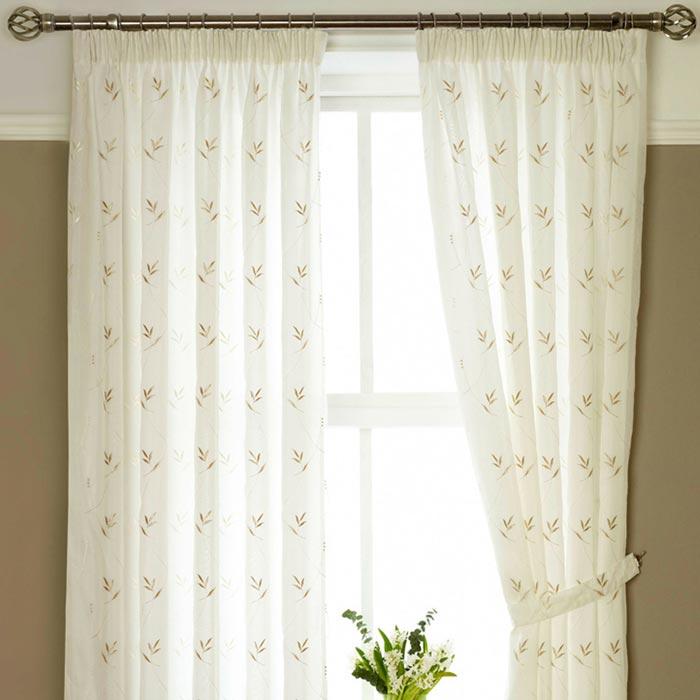 dunelm voile net curtains