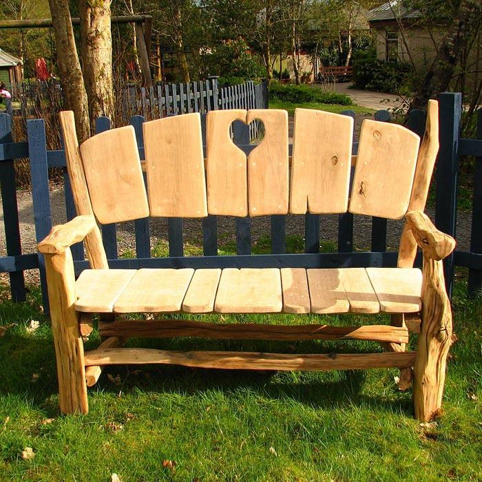 garden bench designs free