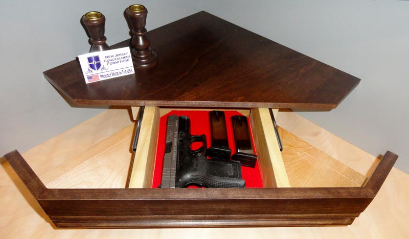 gun cabinet coffee table for sale