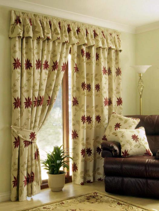 jcpenney curtains and valances designs