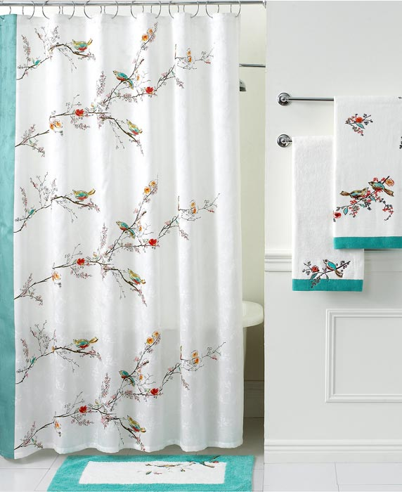 pier one imports shower curtains