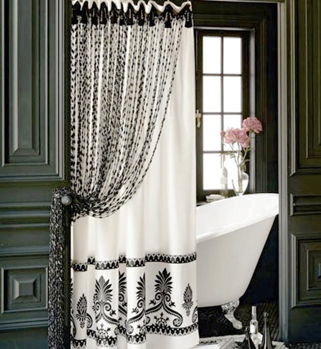 pier one shower curtain extra long