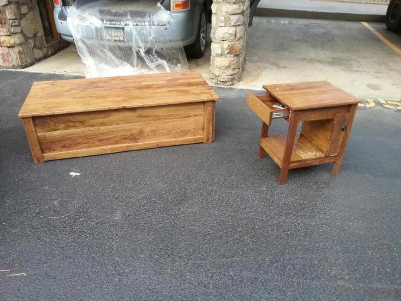 plans for gun cabinet coffee table
