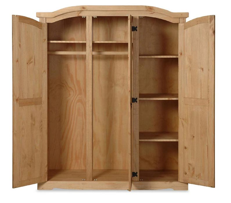 unfinished furniture armoire wardrobe