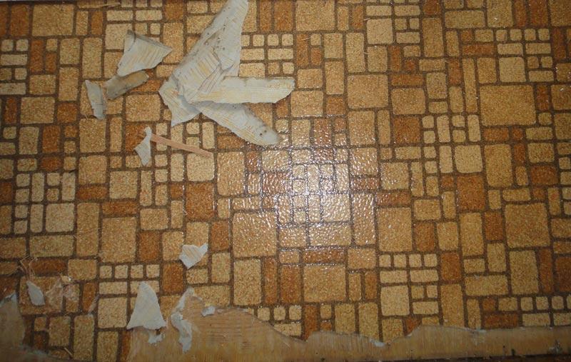 vinyl laminate flooring contain asbestos