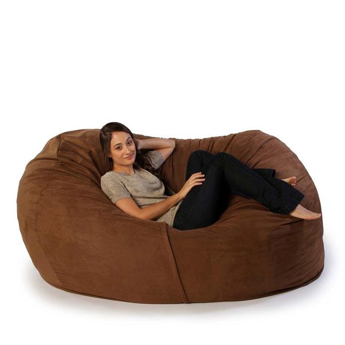 6 foot bean bag sofa