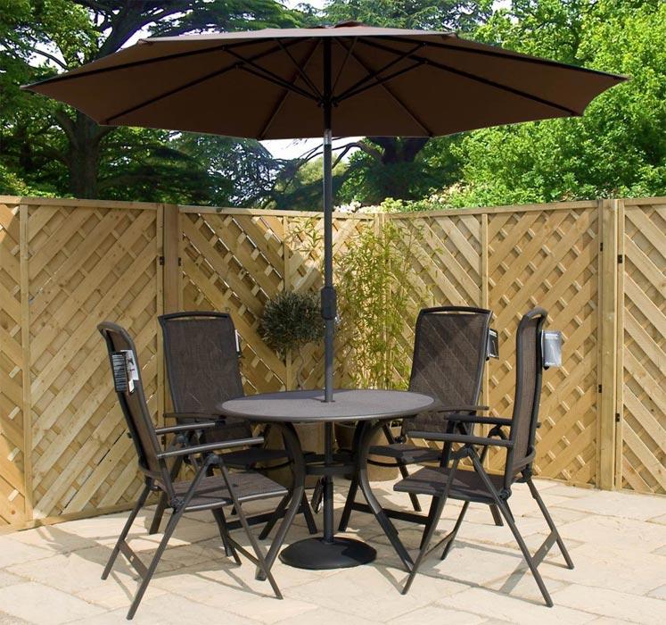 bellagio aluminium garden furniture