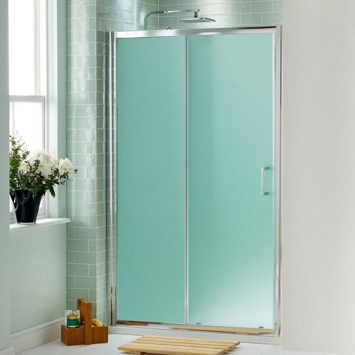 bi fold frosted glass doors