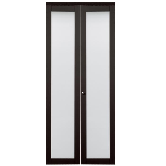 bi fold pantry doors frosted glass